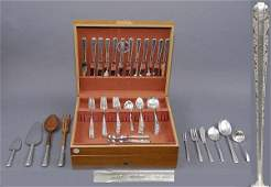 21 Sterling Towle Candlelight 81 Pcs Flatware Service
