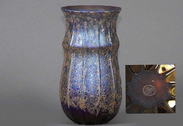 102: Tiffany Favrille Glass Vase
