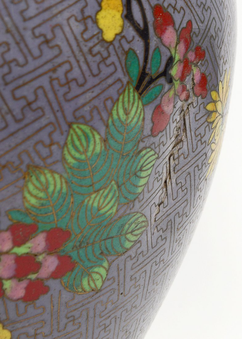 CLOISONNE TABLE LAMP - 3