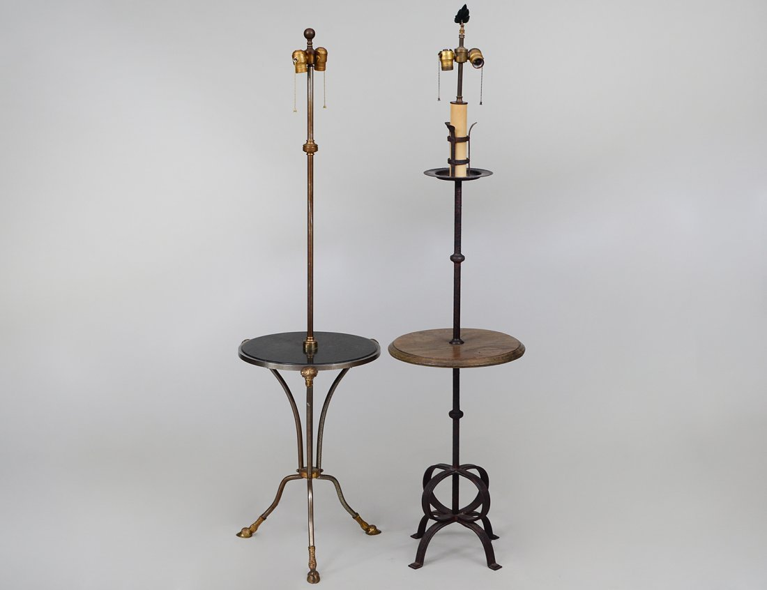 PAIR OF CONTINENTAL FLOOR LAMPS