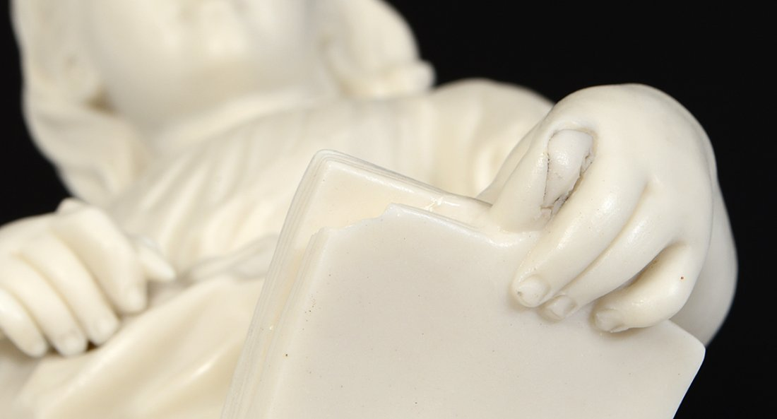 """COPELAND PARIAN WARE FIGURE OF """"YOUNG ENGLAND'S SISTER"""" - 3"""