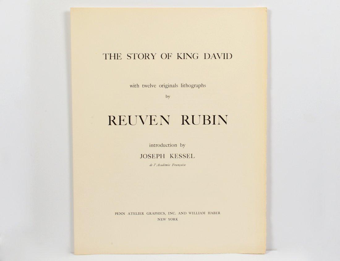 REUVEN RUBIN (Romanian. 1893-1974)