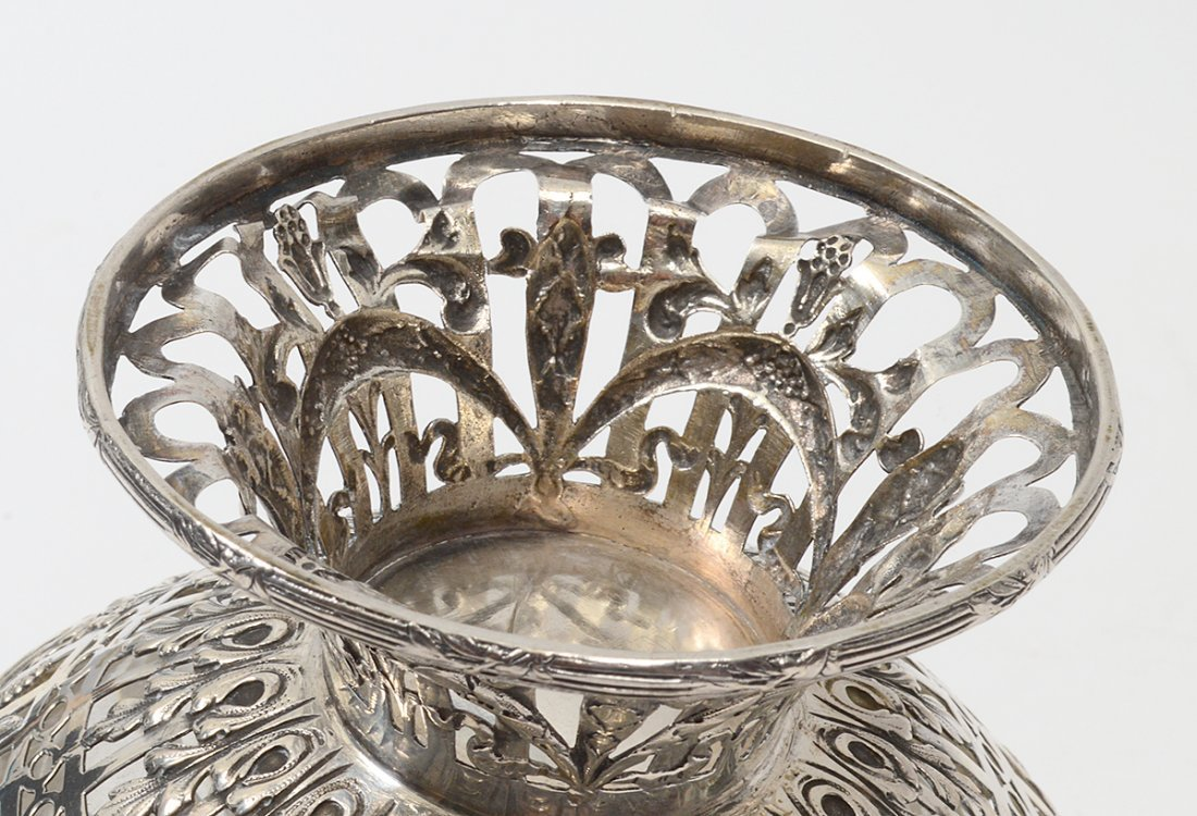 CONTINENTAL SILVER PLATED BASKET - 3