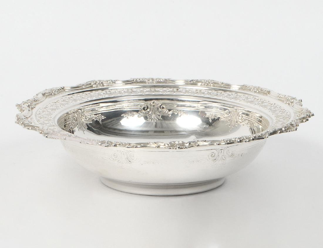 STERLING SILVER RETICULATED BOWL