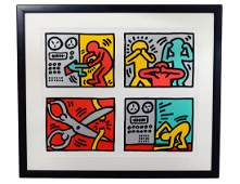 KEITH HARING (American. 1958-1990)