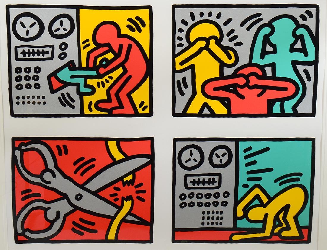 KEITH HARING (American. 1958-1990) - 2