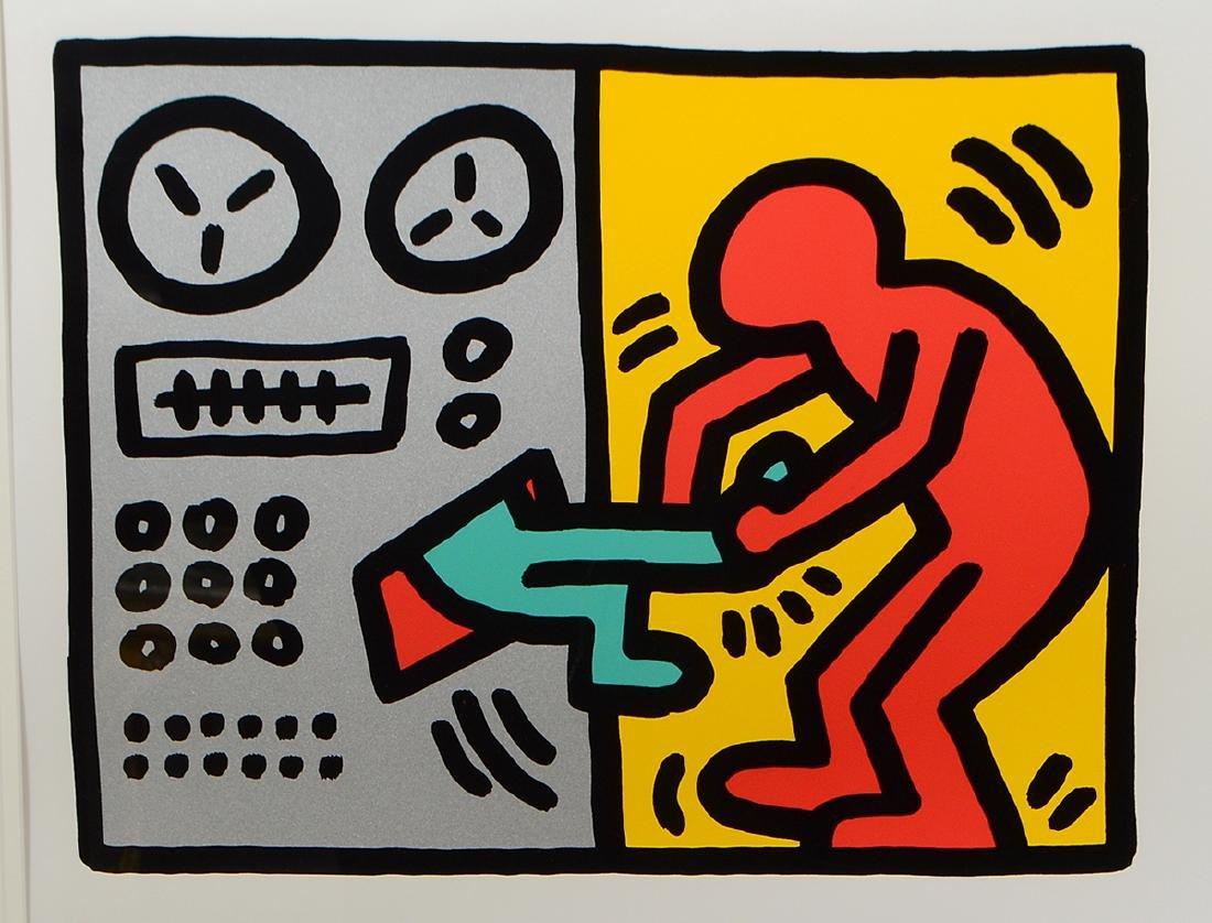 KEITH HARING (American. 1958-1990) - 3