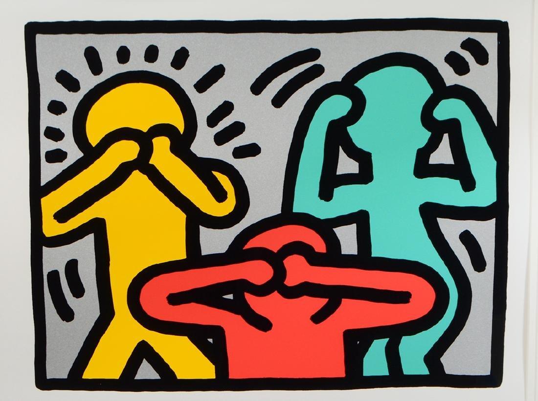KEITH HARING (American. 1958-1990) - 4