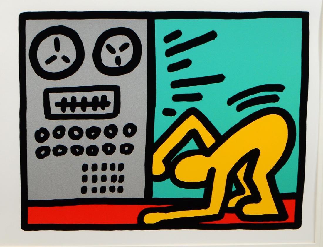 KEITH HARING (American. 1958-1990) - 5