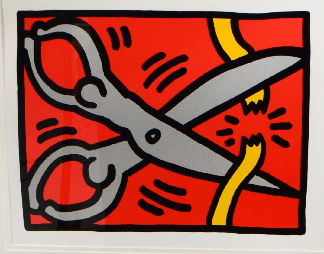 KEITH HARING (American. 1958-1990) - 6