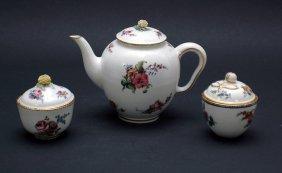 6: Six Pieces Antique Sevres Porcelain