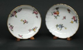 8: Two ' Sevres ' Finely Painted Porcelain Bowls