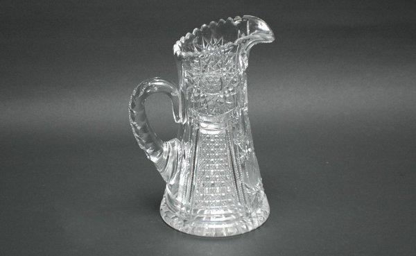 11: Fine American Cut Glass Pitcher