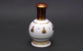 22: Sevres White Porcelain Small Oil Lamp