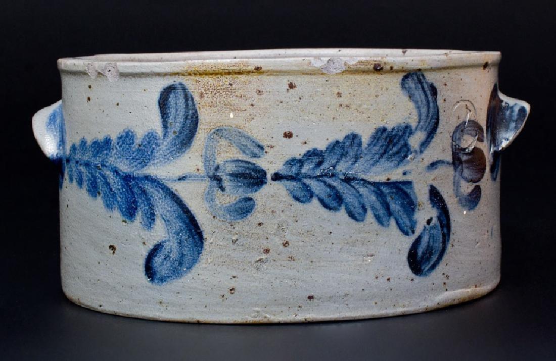 Baltimore Stoneware Butter Crock, circa 1840