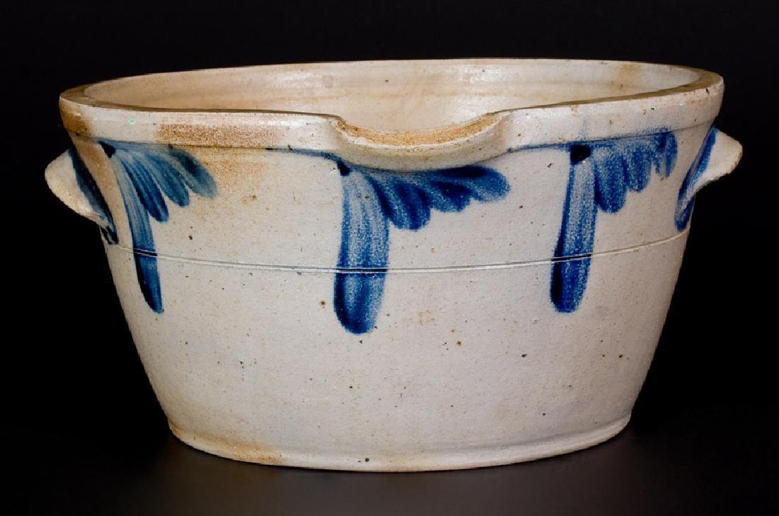 1 1/2 Gal. Baltimore, MD Stoneware Milkpan