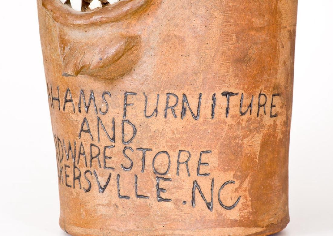 Extremely Rare and Important BROWN POTTERY (Arden, NC) - 9