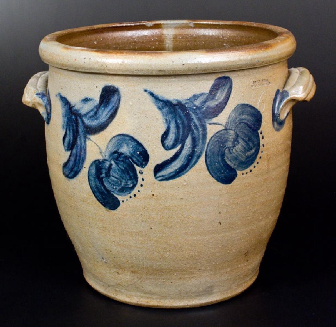 6 Gal. JOHN BELL / WAYNESBORO Stoneware Jar w/ Bold