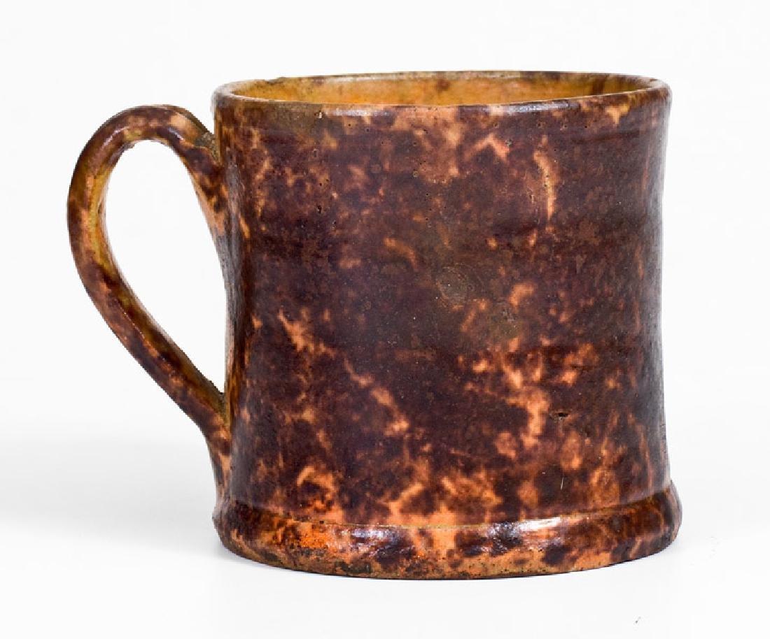 JOHN BELL / WAYNESBORO Redware Mug