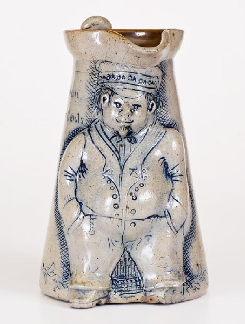 Exceptional Anna Pottery Stoneware Figural Railroad