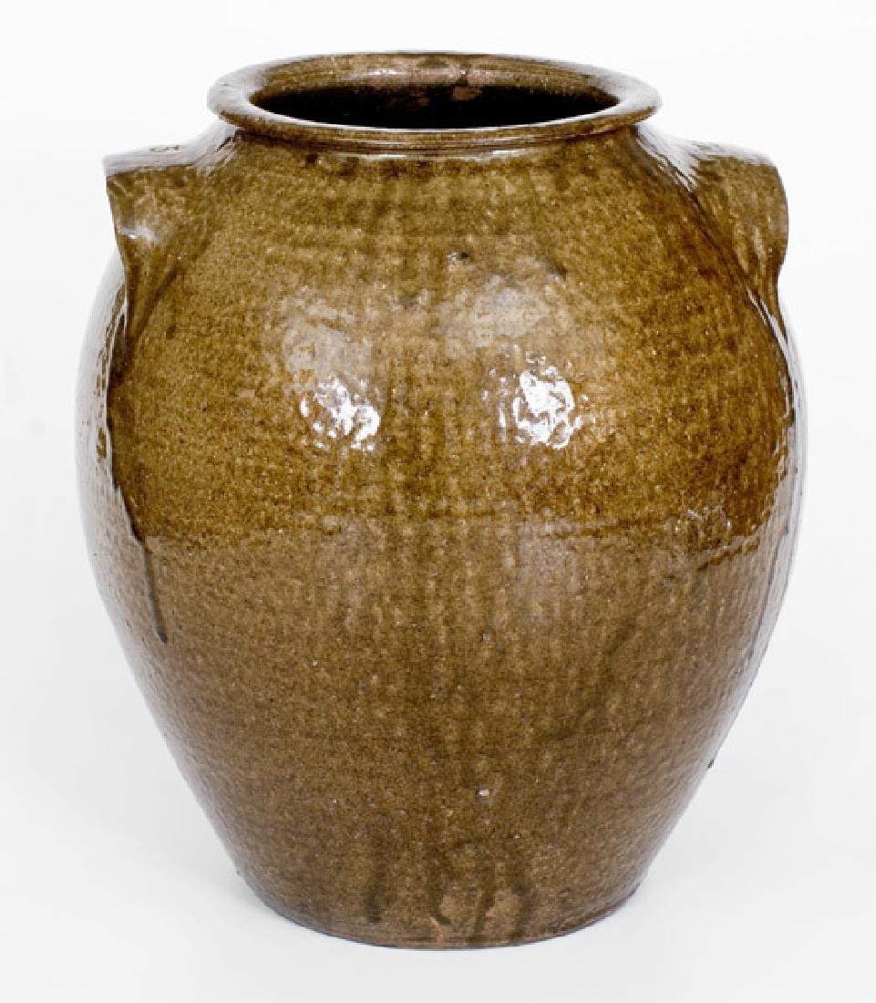 Exceptional 5 Gal. JCM Stoneware Jar, attrib. Daniel