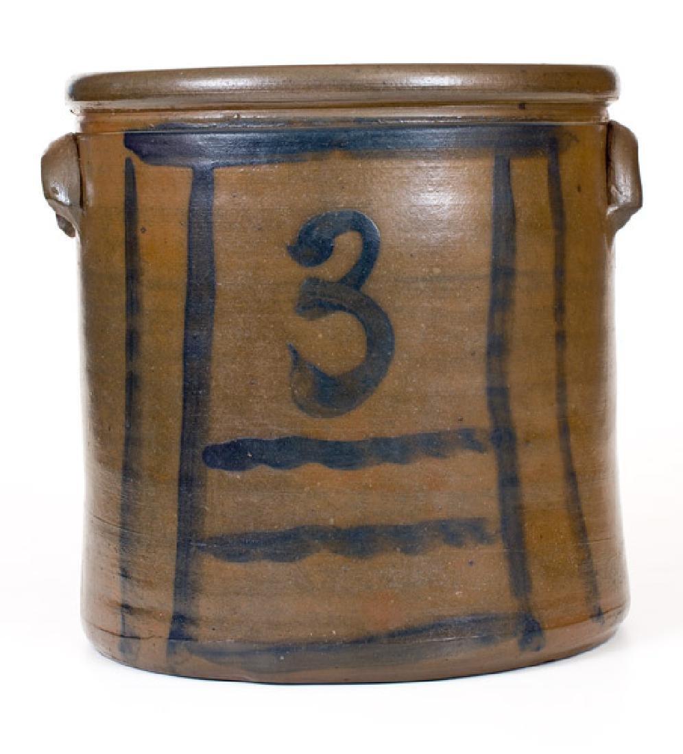 3 Gal. Stoneware Crock att. S.A. Colvin & Sons, Jane