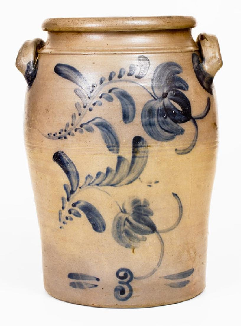 HAMILTON & CO. / Greensboro, PA. Stoneware Jar