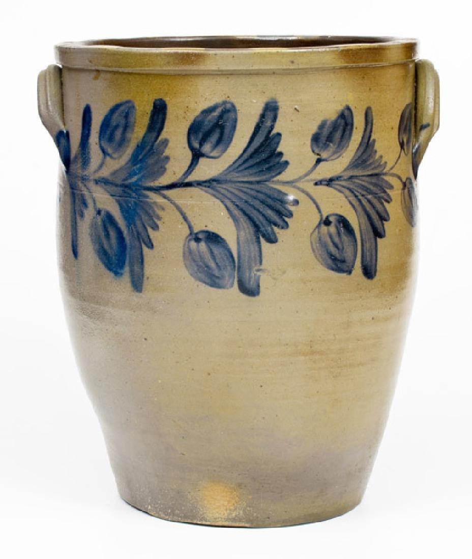 Fine 6 Gal. Stoneware Jar att. Hamilton & Pershing,