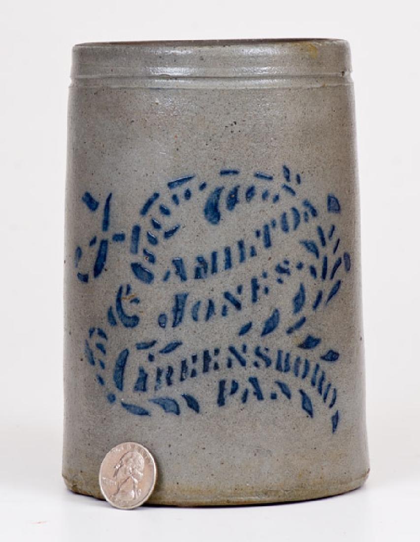 Small-Sized HAMILTON & JONES / GREENSBORO, PA Stoneware