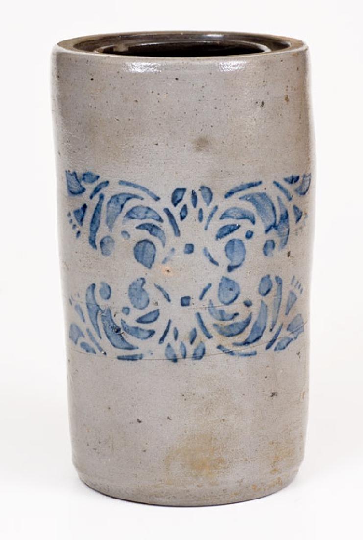 Large-Sized Western PA Stoneware Canning Jar w/