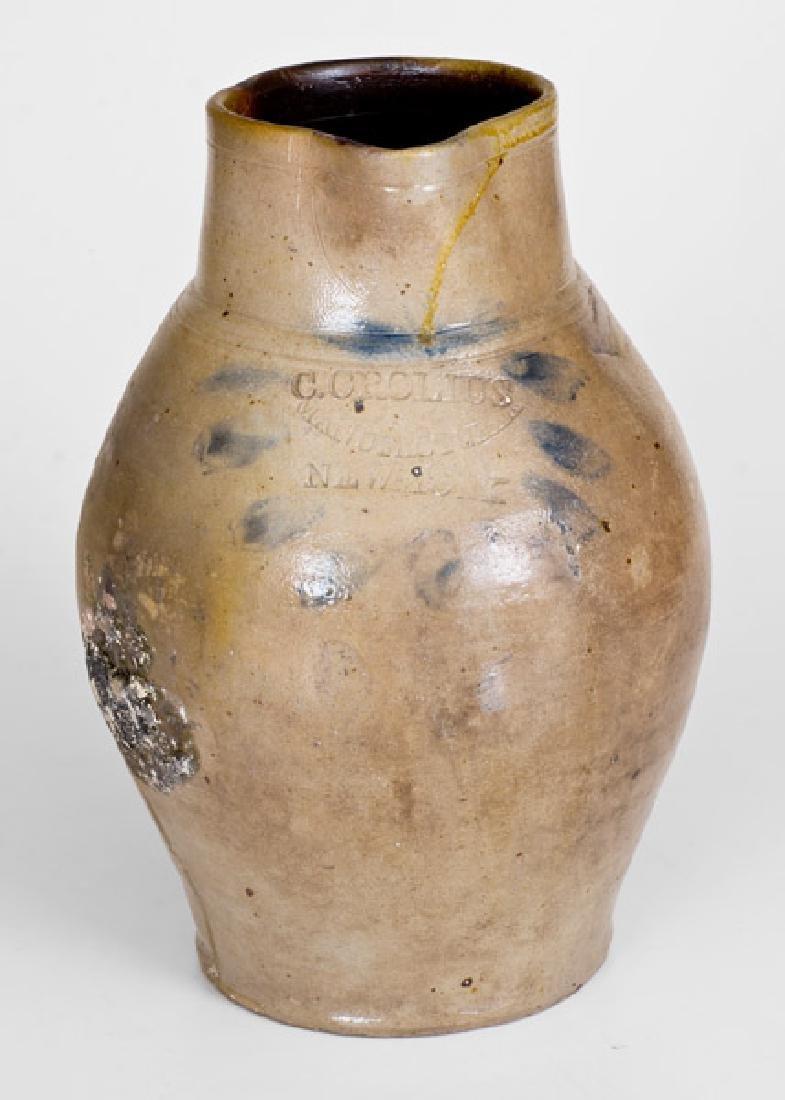 Rare C. CROLIUS / MANUFACTURER / NEW-YORK Stoneware