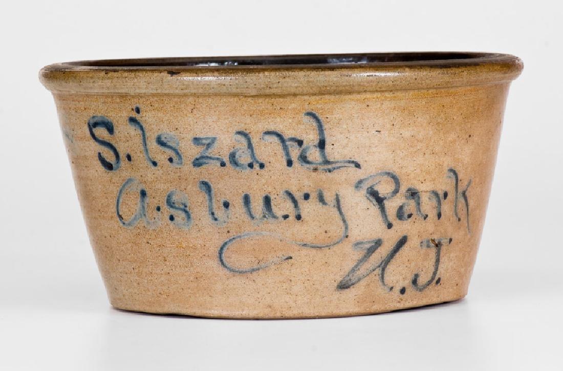 Very Rare Asbury Park, N.J. Stoneware Advertising Bowl