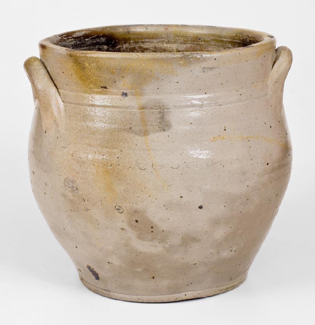 2 Gal. PAUL CUSHMAN'S Albany, NY Stoneware Jar