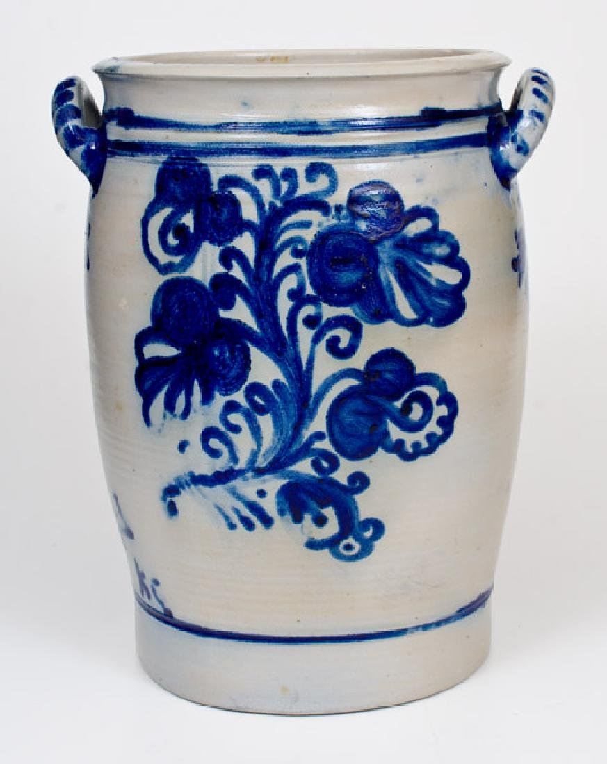 7 Liter Westerwald, Germany Stoneware Jar w/ Elaborate
