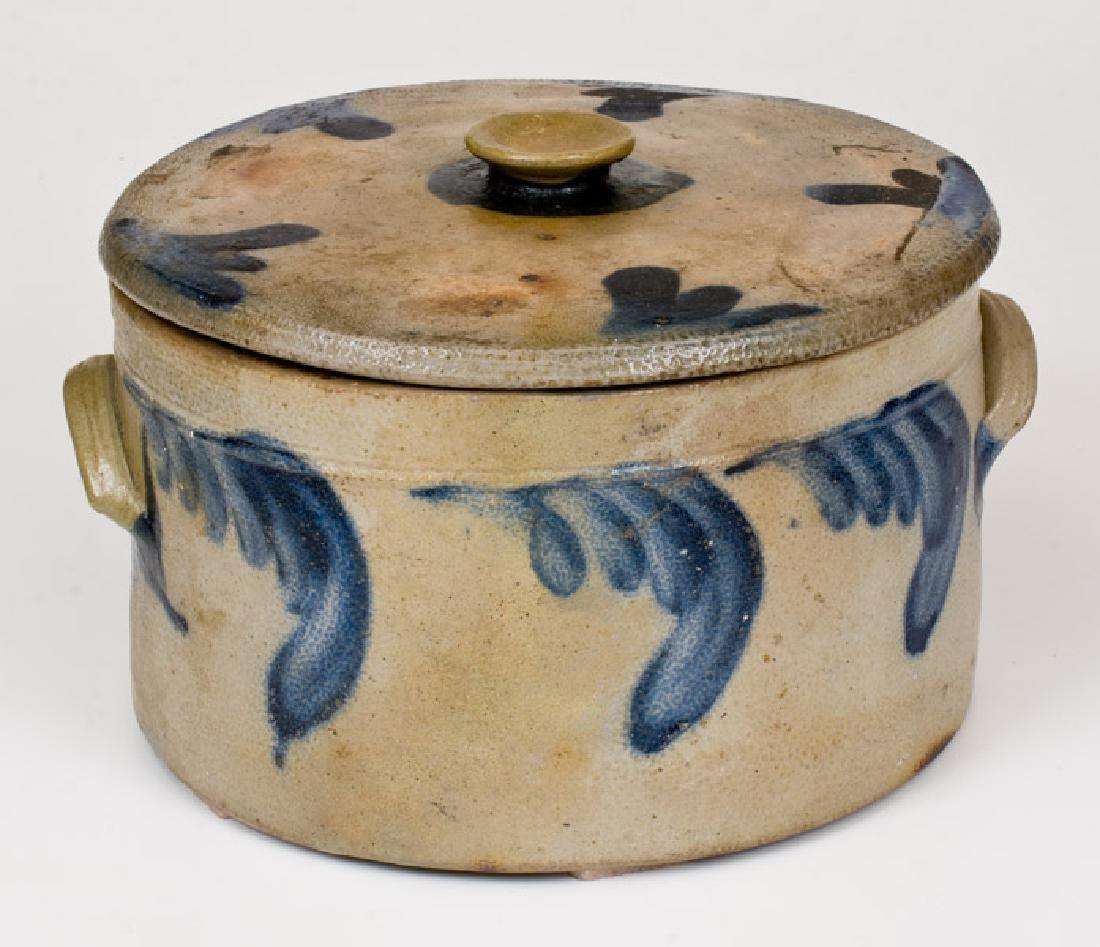 Richard Remmey, Philadelphia, PA Stoneware Butter Crock