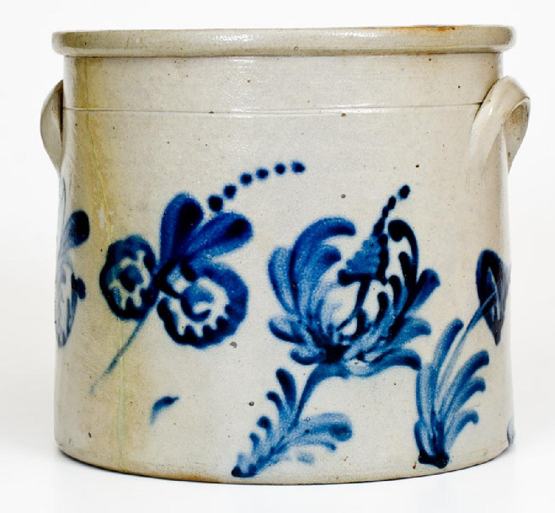 Rare Two-Gallon 1876 Stoneware Crock, possibly Frank B. - 3