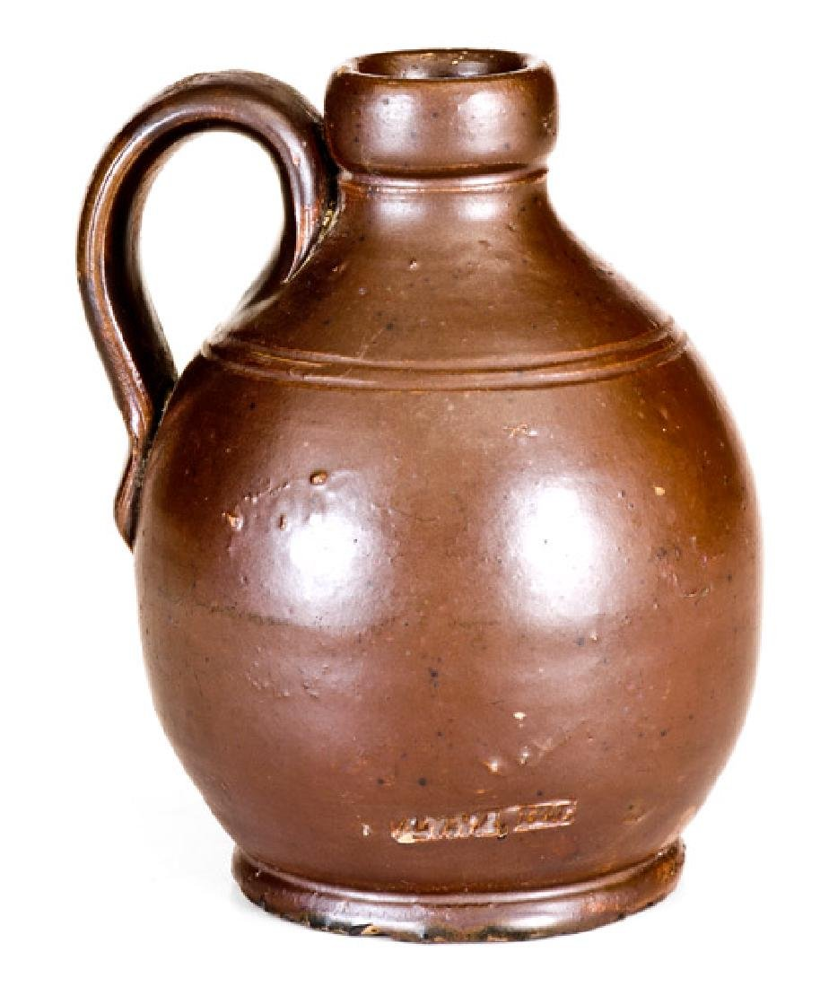 "Anna Pottery Little Brown Jug Stamped ""ANNA, ILL."" - 2"