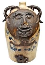Exceedingly Rare and Important Twenty-Gallon Stoneware
