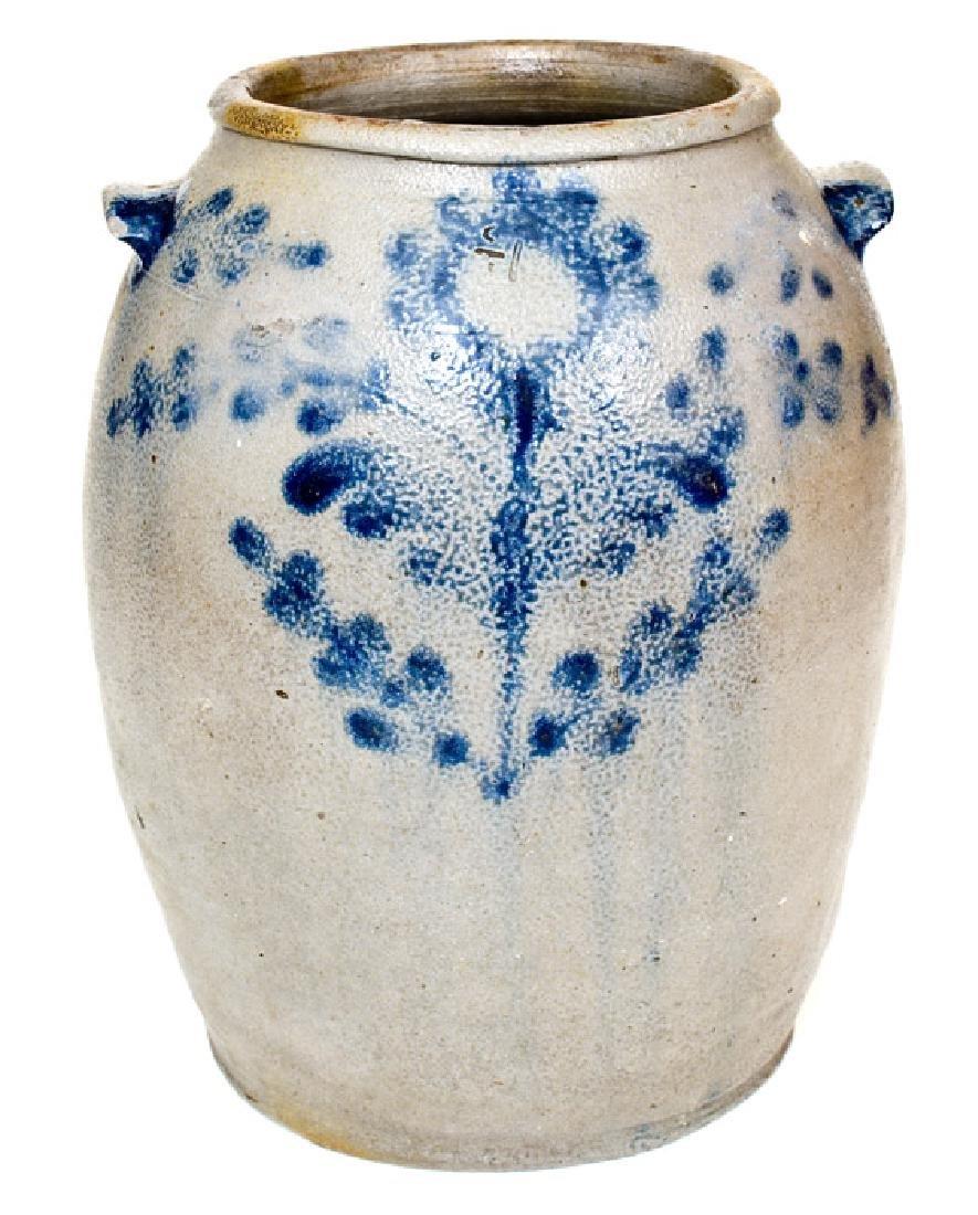 1 1/2 Gal. H. SMITH & CO., Alexandria, VA Stoneware Jar