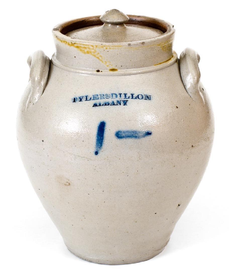Tyler & Dillon / Albany Lidded Stoneware Jar