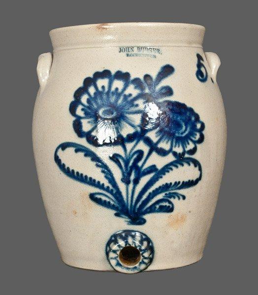 JOHN BURGER / ROCHESTER, NY 5 Gallon Stoneware Water Co