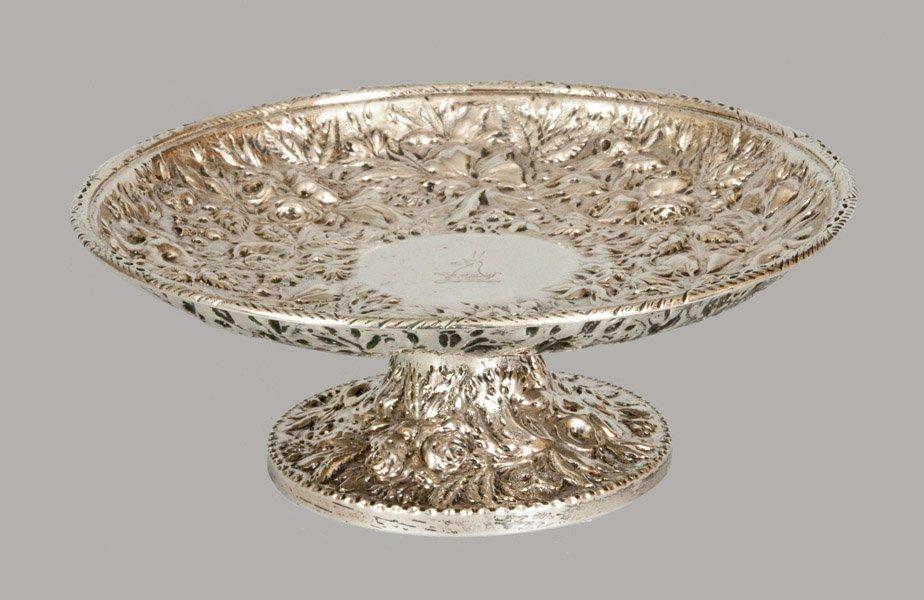 Andrew E. Warner, Baltimore, Elaborate Repousse Silver