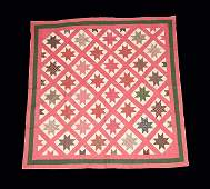 Two Pieced and Appliqued Quilts