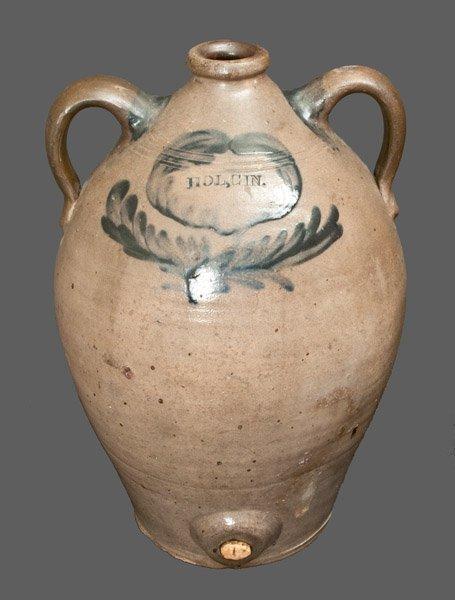 Rare Stoneware Holland Gin Cooler impressed HOL. GIN