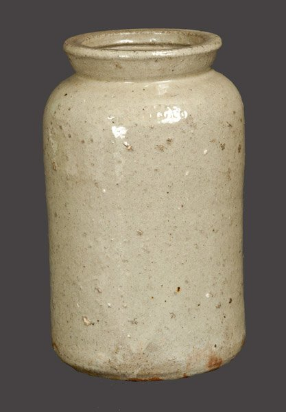 JOHN BELL / WAYNESBORO Stoneware Canning Jar with