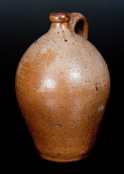 CHARLESTOWN (Boston) Ovoid Stoneware Jug