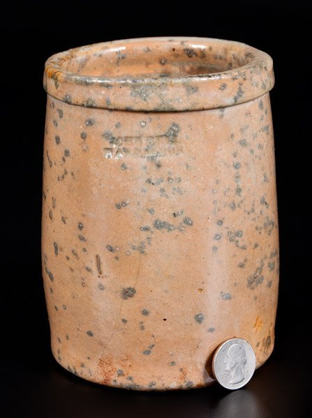 JOHN BELL / WAYNESBORO' Celadon-Glazed Stoneware Jar