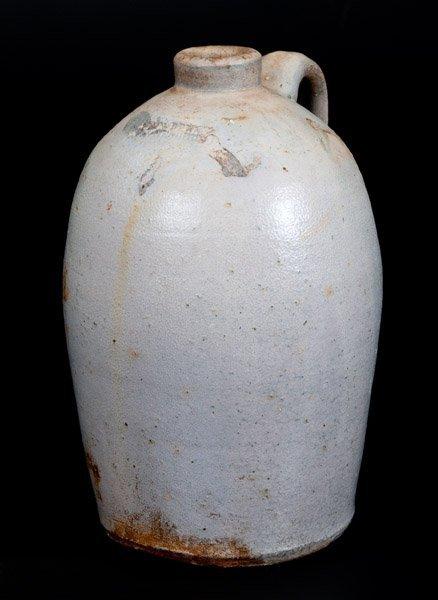 Half-Gallon JOHN BELL / WAYNESBORO Salt-Glazed