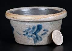 Extremely Rare Miniature Morgantown, WV Stoneware Bowl