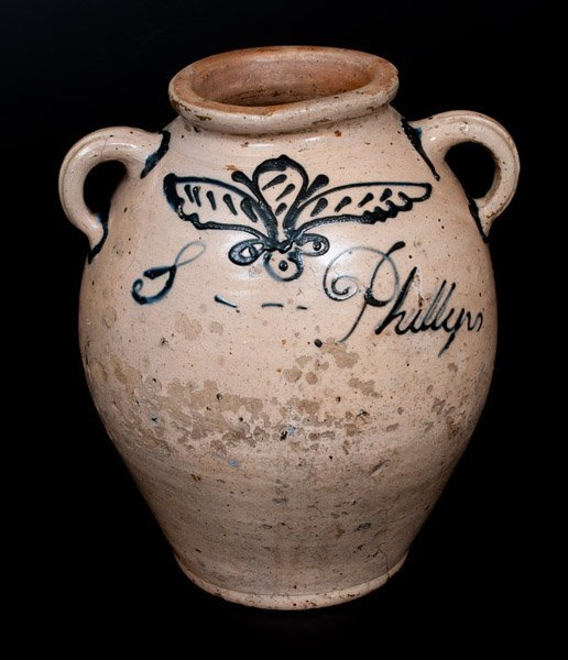 Extremely Rare and Important Early Manhattan Stoneware